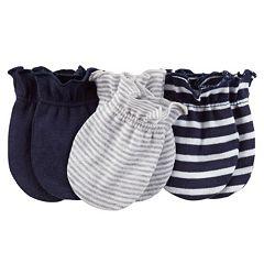 Baby Boy Carter's 3-pk. Stripe Mitts