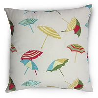 Home Fashions International O'Shady Beach Indoor Outdoor Throw Pillow