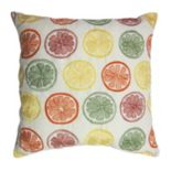 Home Fashions International O'Citrus Indoor Outdoor Throw Pillow