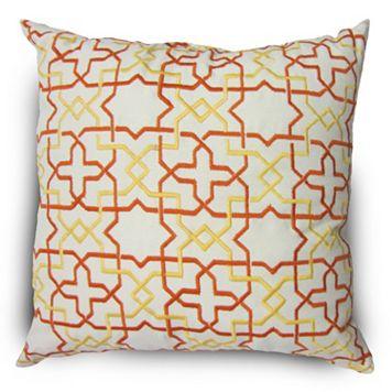 Home Fashions International O'Treasure Indoor Outdoor Throw Pillow