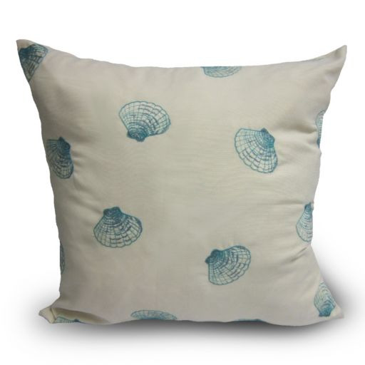Home Fashions International O'Lil Shells Indoor Outdoor Pillow