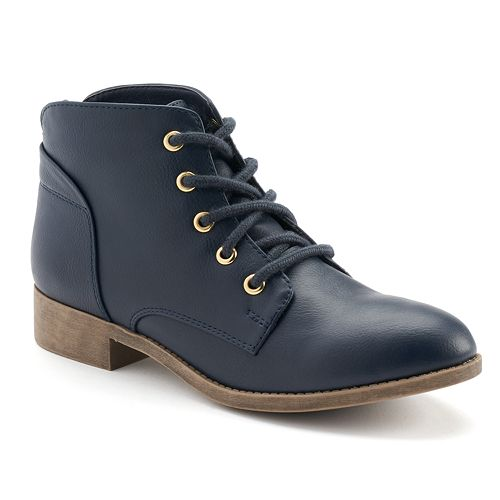 Candie's® Women's Lace-up Ankle Boots