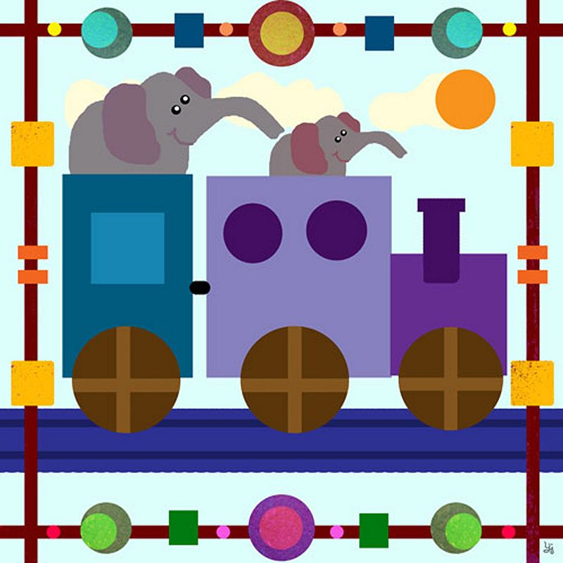 Train Nursery Decor