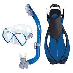 HEAD 3 pc Pirate Dry Snorkel Set