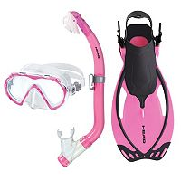 HEAD 3 pc Seahorse Pirate Allegra Junior Snorkel Set