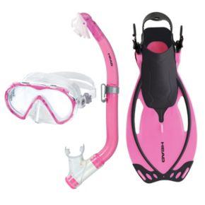 HEAD 3-pc. Seahorse Pirate Allegra Junior Snorkel Set