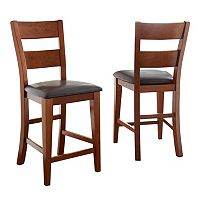 2 pc Mango Counter Chair Set
