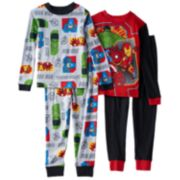 The Avengers Infinity Gauntlet 4-Piece Pajama Set - Boys 4-10