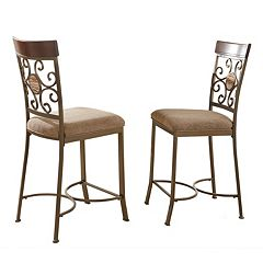 2-Piece Thompson Counter Chair Set