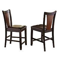2 pc Oakton Counter Chair Set