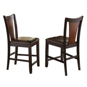 2-Piece Oakton Counter Chair Set