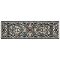 Trans Ocean Imports Liora Manne Petra Agra Floral Wool Rug Runner - 2'3'' x 8'