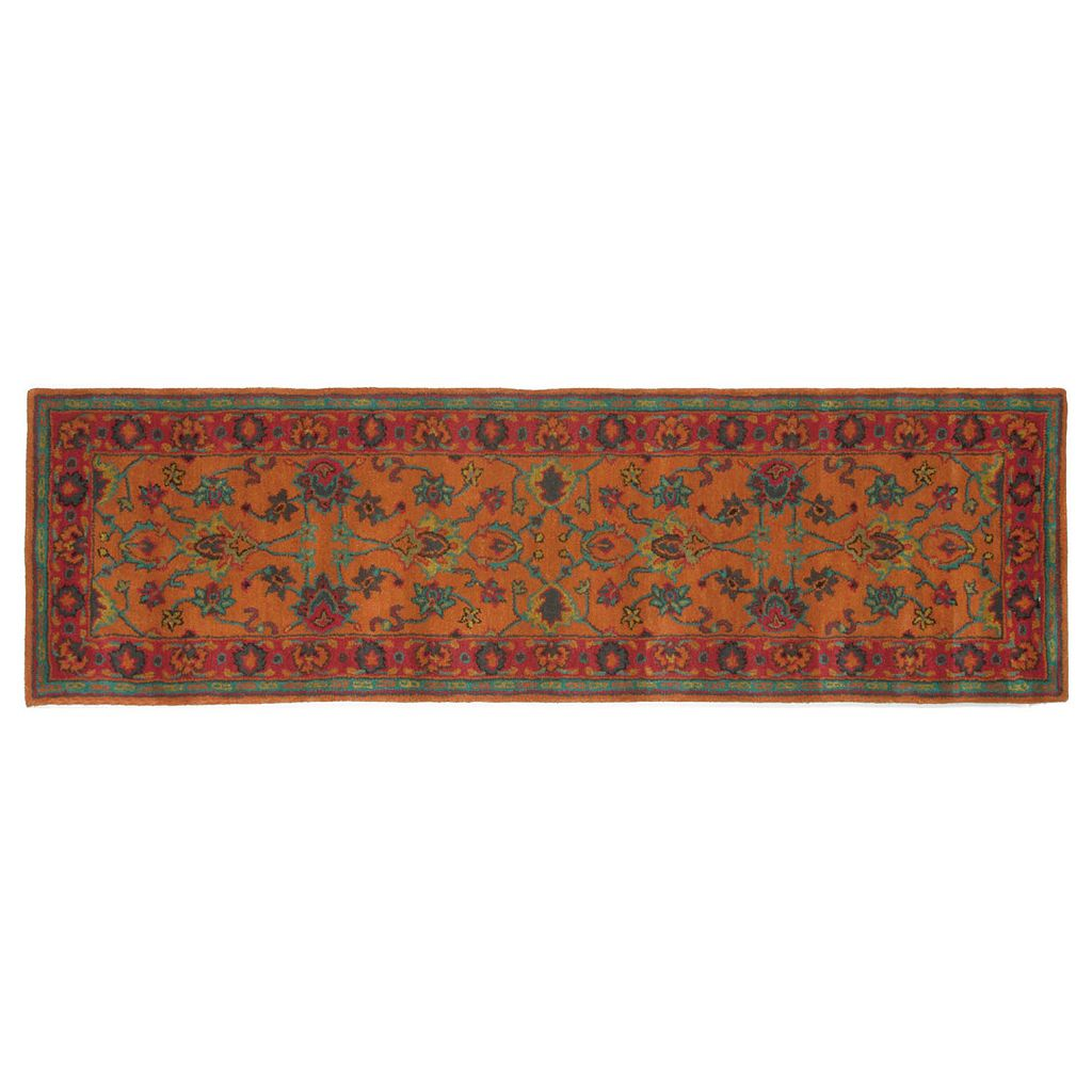 Liora Manne Petra Agra Floral Wool Rug Runner - 2'3'' x 8'
