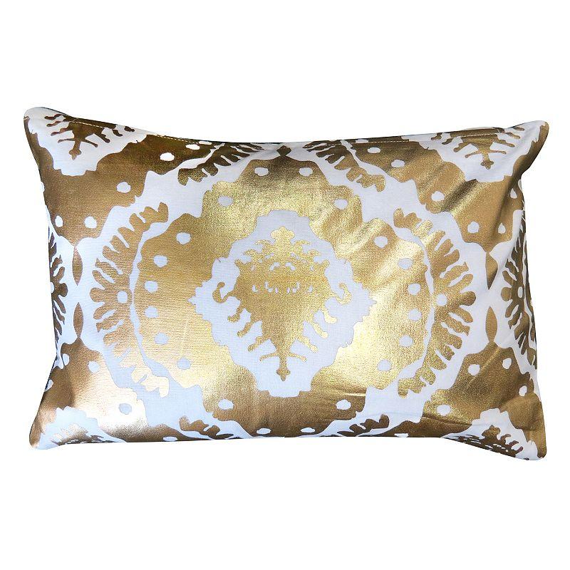 Gold Throw Pillow Kohl s