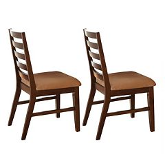 2 pc Eden Side Chair Set