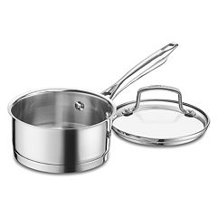 Cuisinart 1-qt. Stainless Steel Saucepan