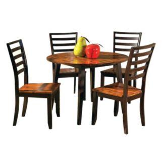 5-Piece Abaco Drop Leaf Dining Set