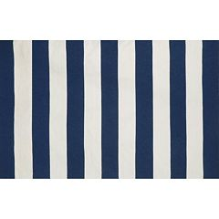 Liora Manne Sorrento Rugby Stripe Indoor Outdoor Rug