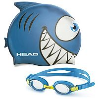 Youth HEAD Meteor Animal Goggle & Swim Cap Set