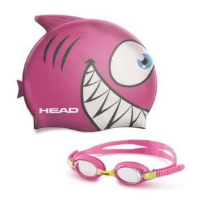 Youth HEAD Meteor Animal Goggle & Swim Cap Set