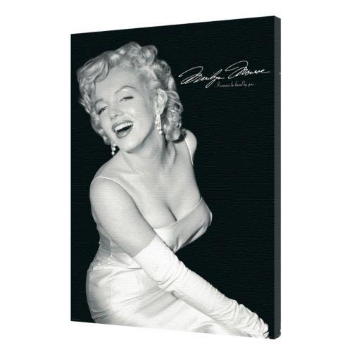 "Art.com ""Marilyn Monroe Loved"" Canvas Wall Art"