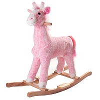 Happy Trails Penny the Rocking Plush Giraffe