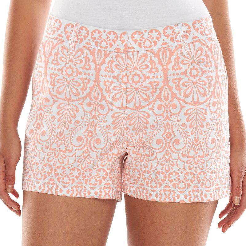 ELLE Print Chino Shorts - Women's