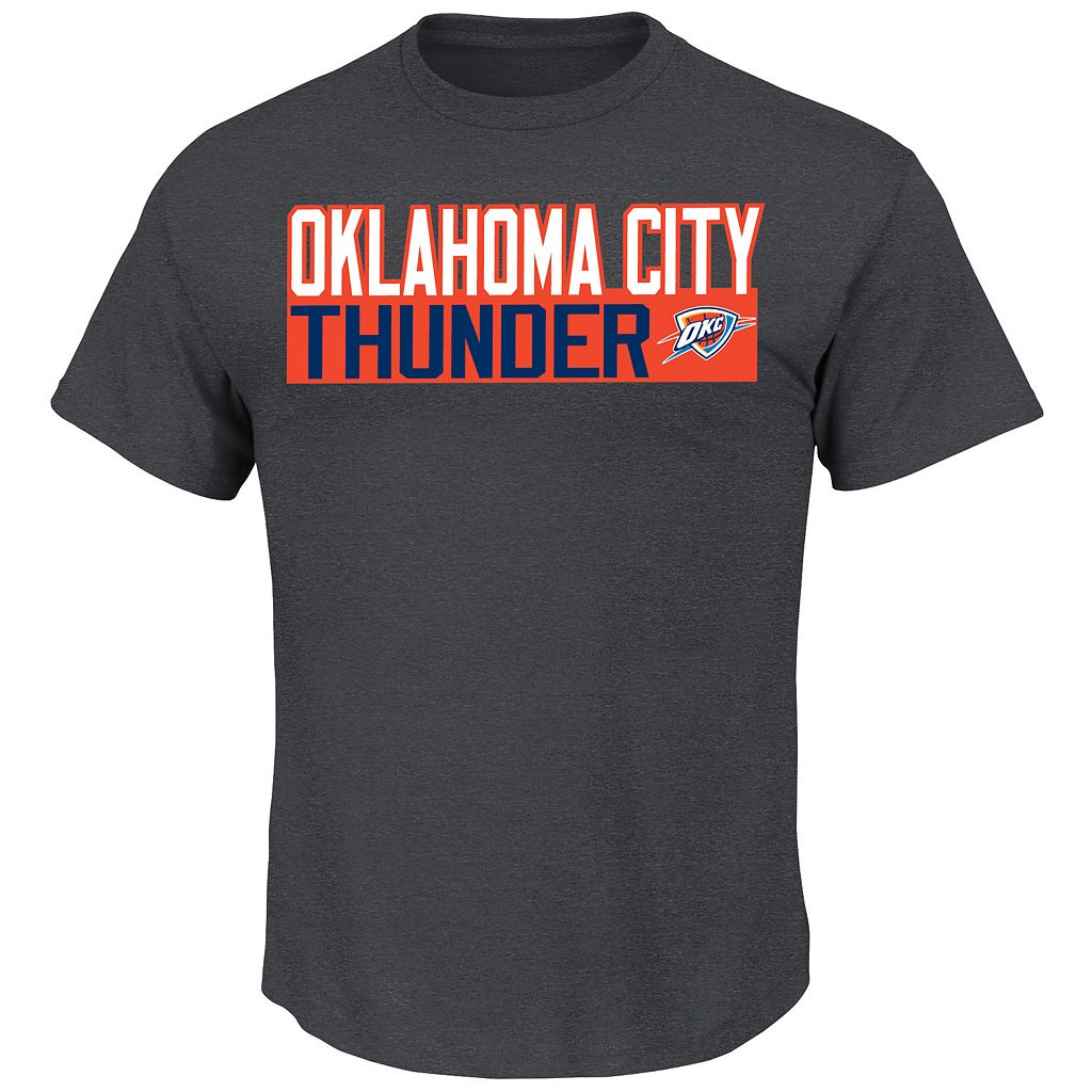 Boys 4-7 Majestic Oklahoma City Thunder Kevin Durant Player Name and Number Tee