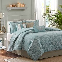 Madison Park Seaside 7 pc Reversible Comforter Set
