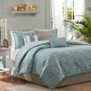 Madison Park Seaside 7-pc. Reversible Comforter Set
