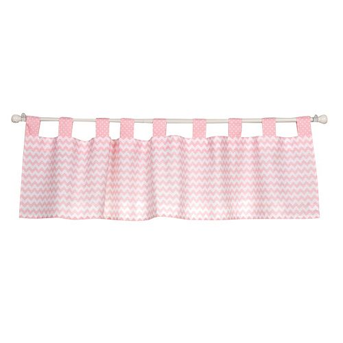 Trend Lab Pink Sky Window Valance