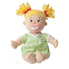 Baby Stella Blonde Baby Doll by Manhattan Toy