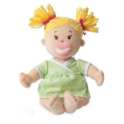 Baby Stella Blonde Baby Doll by Manhattan Toy