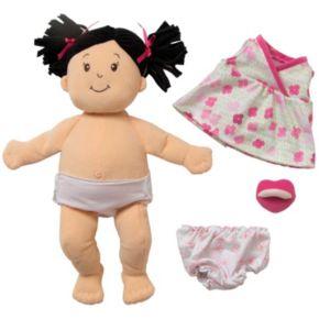 Baby Stella Brunette Baby Doll by Manhattan Toy