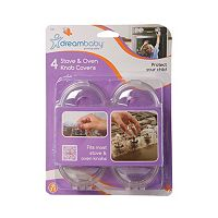 Dreambaby 4 pkStove & Oven Knob Covers