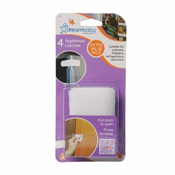 Dreambaby 4-pk. Appliance Latches