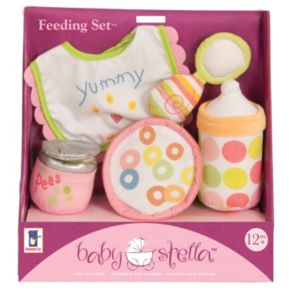 Baby Stella Feeding Set by Manhattan Toy