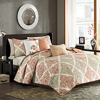 Madison Park Arista 6-pc. Quilted Coverlet Set