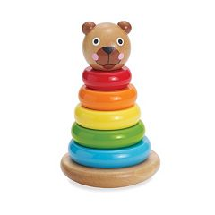 Brilliant Bear Magnetic Stack-Up by Manhattan Toy
