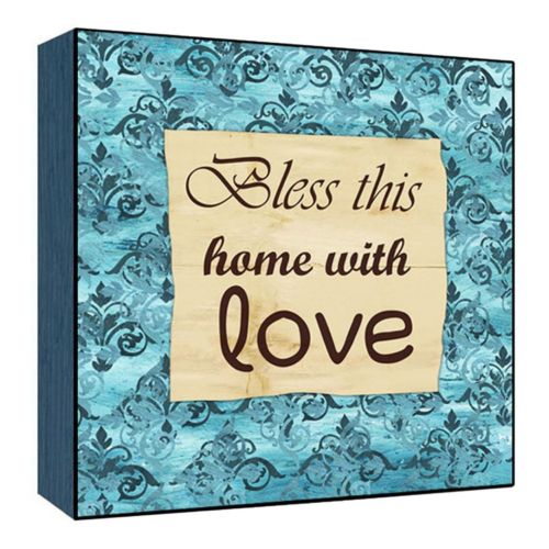 ''Home With Love'' Wall Art