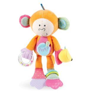 Peak-Squeak Monkey by Manhattan Toy