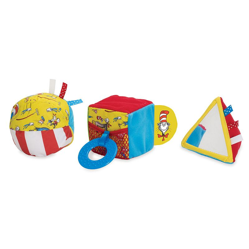Dr. Seuss The Cat in the Hat Shape Set by Manhattan Toy ()