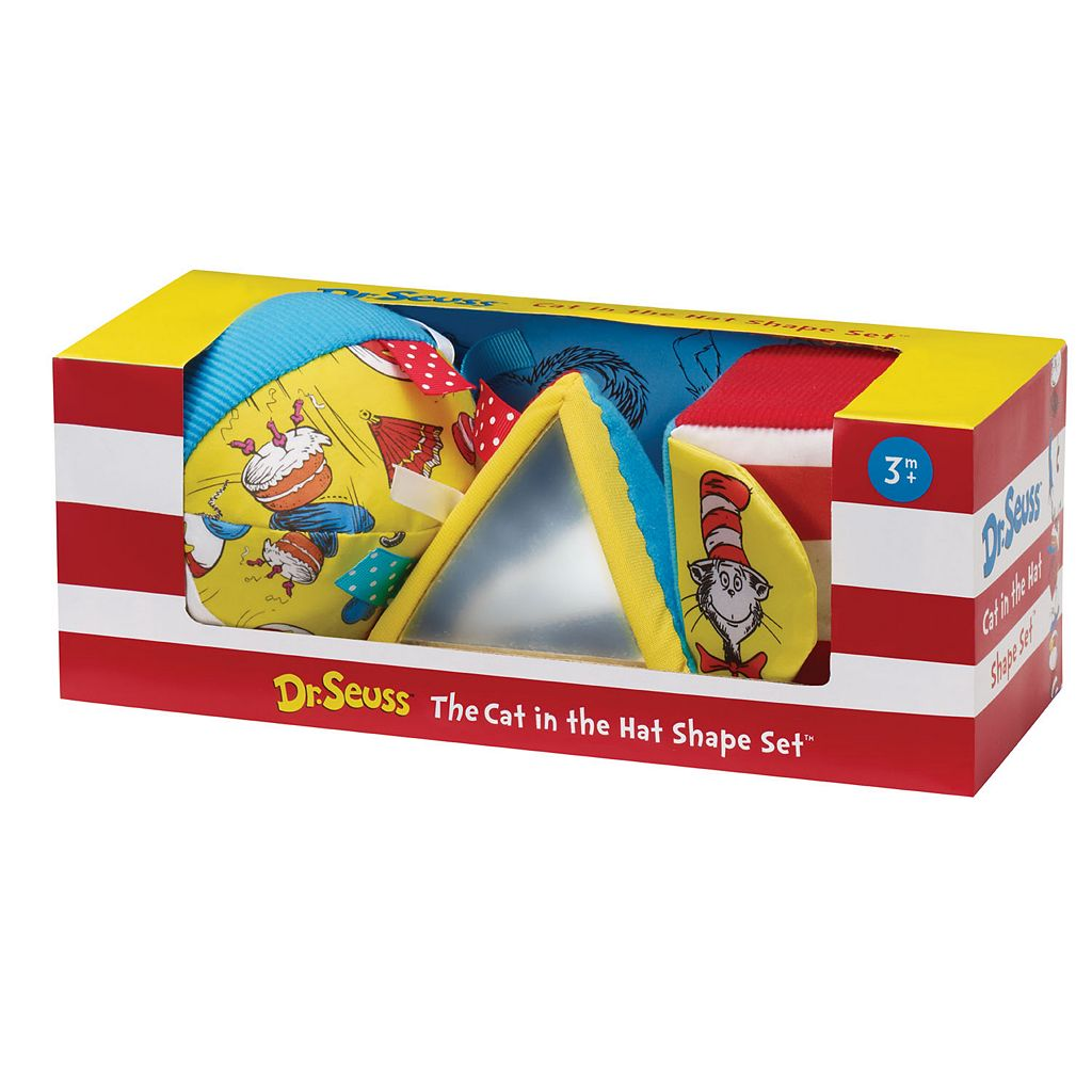 Dr. Seuss The Cat in the Hat Shape Set by Manhattan Toy