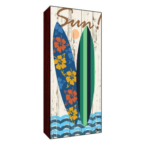 """""""Sun"""" Surfboard Wall Art"""
