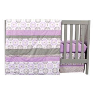 Trend Lab Medallion 3-pc. Crib Bedding Set