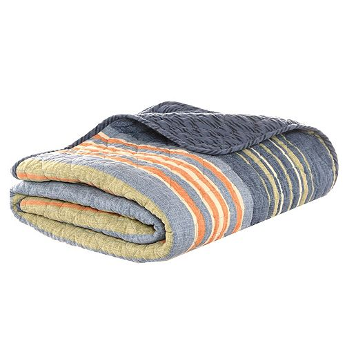 Eddie Bauer Reversible Quilted Throw