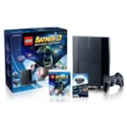 Sony PlayStation 3 PS3 Bundle, 500GB with LEGO Batman 3 & The Sly Collection