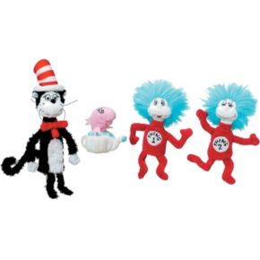 Dr. Seuss Cat in the Hat Finger Puppet Set by Manhattan Toy