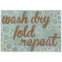 Trans Ocean Imports Liora Manne Frontporch Wash & Repeat Indoor Outdoor Rug