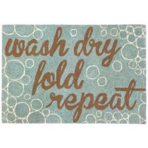 Trans Ocean Imports Liora Manne Frontporch Wash and Repeat Indoor Outdoor Rug